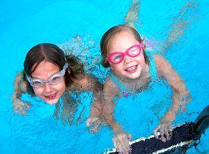 children-swim-play